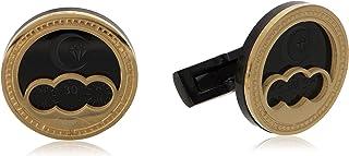 Diamond Moon Stainless Steel Cufflinks for Men, Stainless Steel - 1800541240423