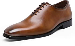 Men's Dress Shoes Classic Oxford Formal Business Lace-up Full Grain Leather Shoes for Men