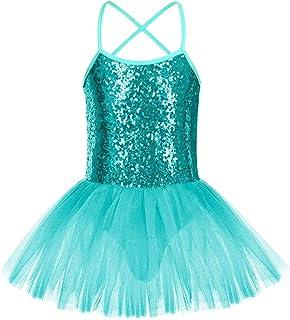 FONLAM Vestido Maillot de Ballet para Niña Vestido Danza