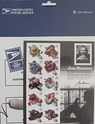 entrega gratis Jim Henson and and and the Muppets, Full Sheet of 11 x 37-Cent Postage Stamps, USA 2005, Scott 3944 by USPS  salida de fábrica