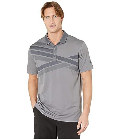 PUMA Golf Alterknit Texture Polo (Quiet Shade) Men