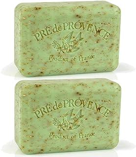 Pre de Provence 150g Shea Butter Enriched Bath Soap - Sage (Pack of 2)