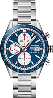 Carrera Blue Dial Automatic Mens Chronograph Watch CV201AR.BA0715