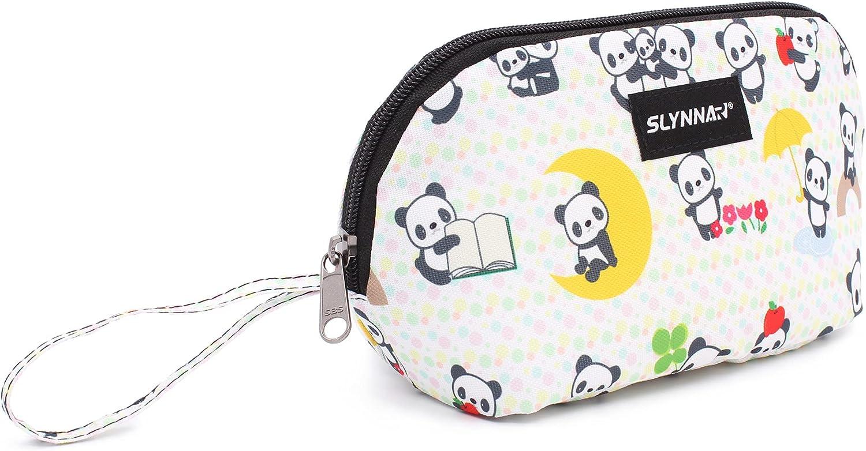 Slynnar Freezable Snack Bag Lunch Box, Panda