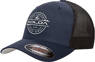 Koloa Surf Premium Embroidered Thruster Logo Flexfit 6511 Truckers Caps