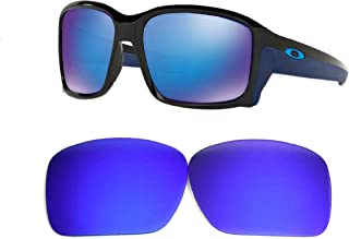 Galaxy Replacement lenses For Oakley Straightlink Polarized Blue 100% UVAB