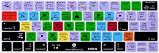 XSKN2016 NewShortcutDesignSeriesKeyboardSkinCover forTouchBarModelsMacBookPro13(A1706)&MacBookPro15(A1707),USEU Universal Version (Lightroom)