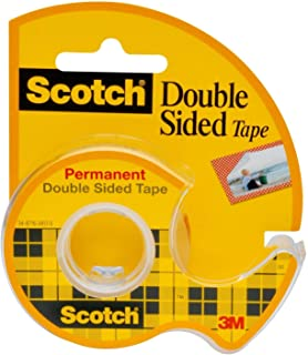 Scotch Brand Double Sided Tape, Strong, Photo-Safe, Engineered for Holding, 3/4 x 300 Inches, Boxed, 1 Roll (237)