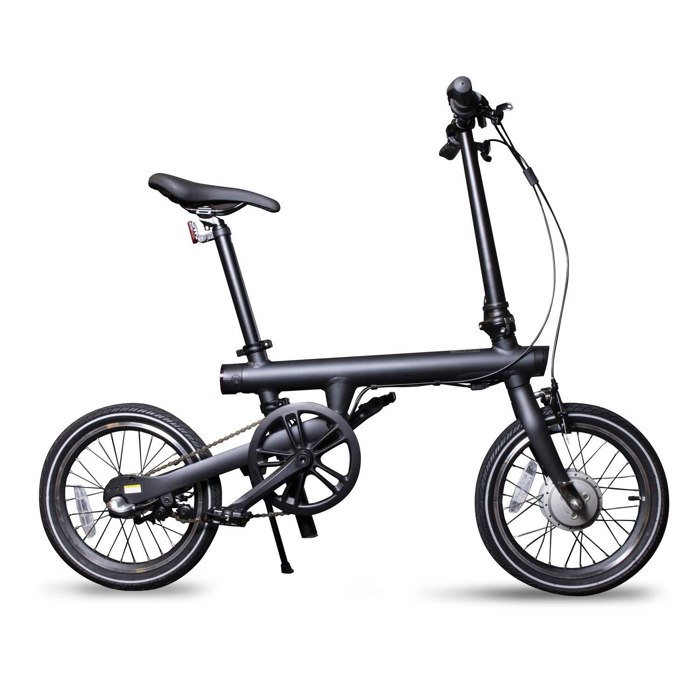 Xiaomi Qicycle - Bicicleta Eléctrica Plegable 250W, Negro: Amazon.es: Deportes y aire libre