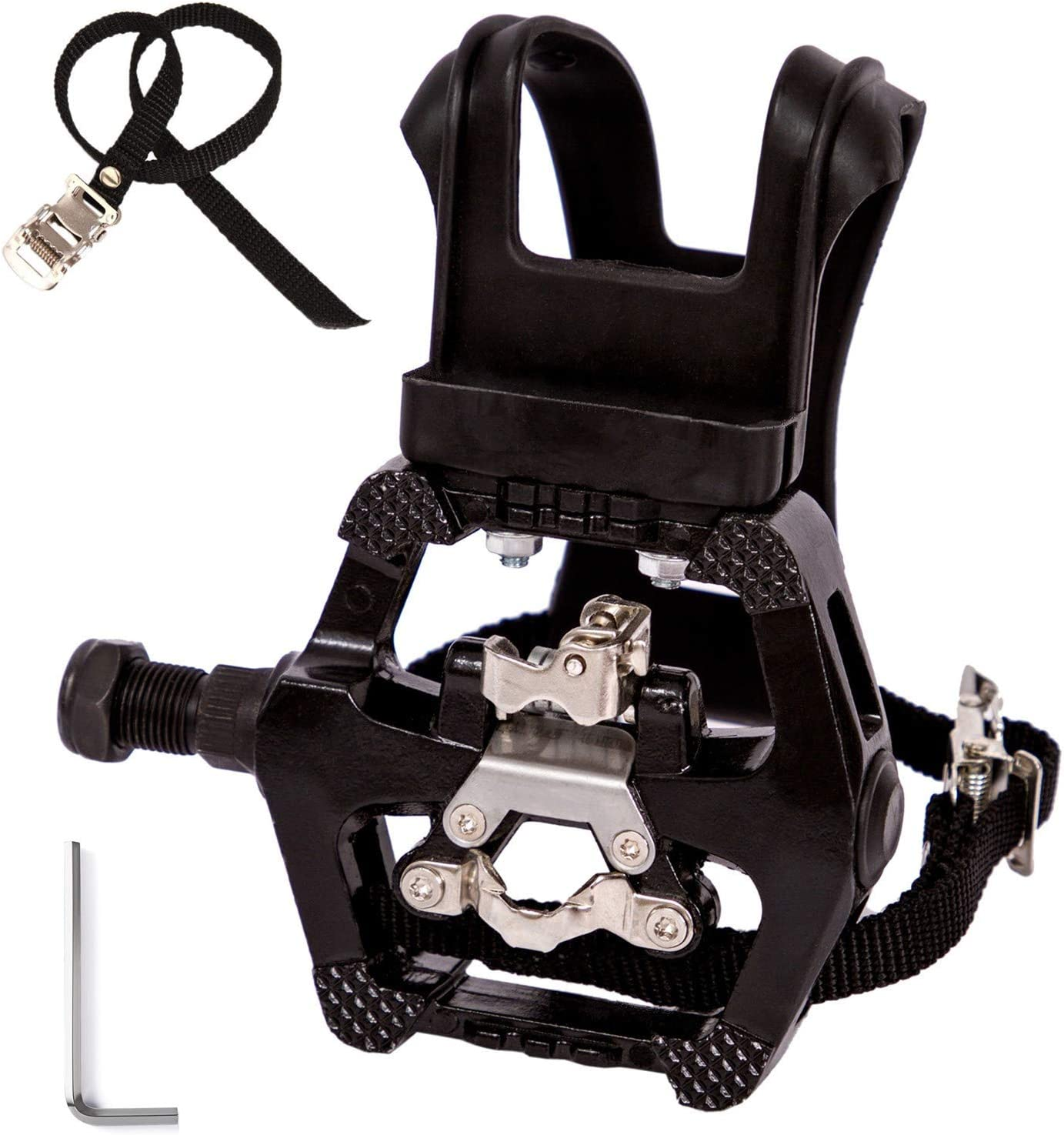 Details about  /1pair Cycling MTB Road Bike Pedal Toe Clip Strap Belt Bicycle Pedal Shoe Harness