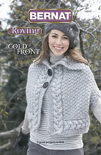 Spinrite Bernard Tricot et Le Crochet Patterns Froid, Front-roving