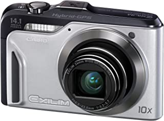 Casio Exilim EX-H20G 14 MP, 10x Optical Zoom Compact Digital Camera (Silver)
