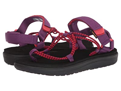 Teva Kids Voya Infinity (Little Kid/Big Kid) (Gloxinia/Firey Red) Kid