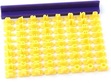 Fondant Cake Alphabet Letter Number Cookies Biscuit Stamp Embosser Mold Cutter