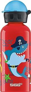 Sigg Underwater Pirates Cantimplora Infantil (0.4 L), Botella para niños sin sustancias nocivas y con Tapa hermética, cantimplora Ligera de Aluminio