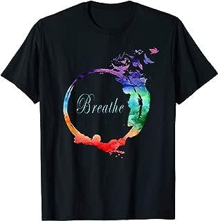 Breathe Shirt Cool Heavenly Breath Nature Yoga Tee Gift