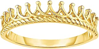 14k crown ring