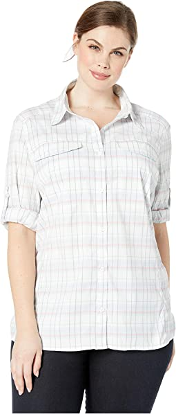 Cirrus Grey Small Plaid