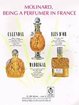 Molinard, being a perfumer in France