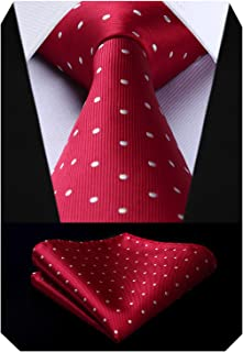 Best red polka dot tie and handkerchief Reviews