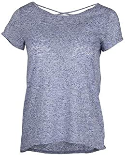 Ouray Sportswear Women's Criss Cross Tee Short Sleeve