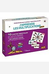 J'apprends les multiplications autrement: 10 cartes mentales pour apprendre facilement les tables de multiplication ! + 120 cartes à jouer pour s'entraîner en s'amusant + 1 livret explicatif Broché
