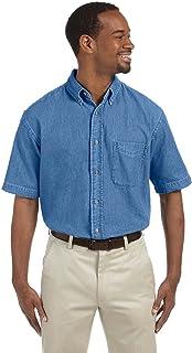 2fac1b7907582 Amazon.com  Harriton - Casual Button-Down Shirts   Shirts  Clothing ...