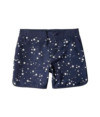 Columbia Kids Sandy Shorestm Boardshorts (Little Kids/Big Kids) (Nocturnal Starlit) Girl