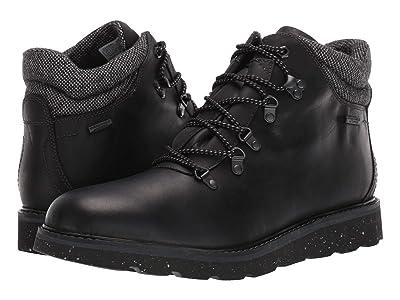 Rockport Storm Front Waterproof Alpine Boot (Black Leather) Men