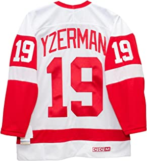 yzerman hockey jersey
