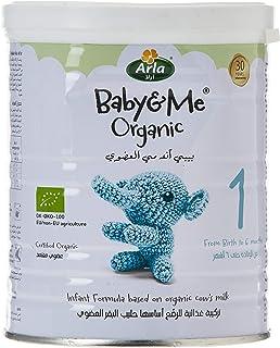 Arla Baby & Me Organic 1- Milk Formula, 400g (Pack of 1)