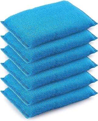 Cello Sponge Non Stick Utensils Scrubber Blue Pack of 6
