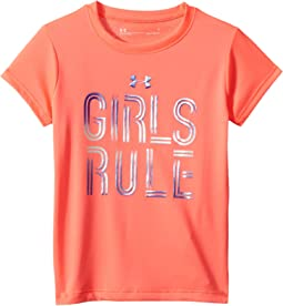 Under Armour Kids Girls Rule Short Sleeve (Little Kids)