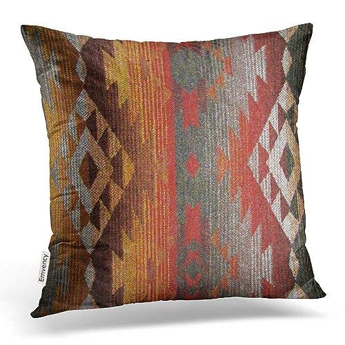 Throw Pillow Cover With Hidden Zipper Amazon Com