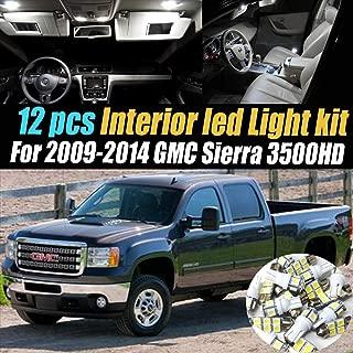 2014 gmc sierra interior lights