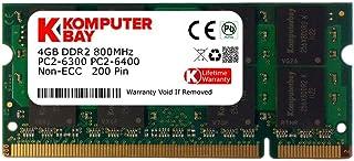 Komputerbay KB 4GBDDR2 - Memoria RAM 4 GB (DDR2, 800 MHz, 200-pin)