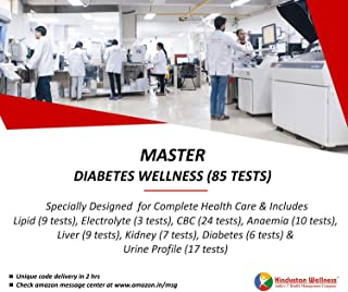 Hindustan Wellness Swasth Bharat - Master Diabetes Wellness (85 Tests) (Voucher Code delivered through email in 2 hours after order confirmation)