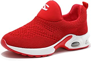 Kids Boys Girls Running Shoes Comfortable Fashion Light Weight Slip on Cushion