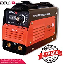 iBELL Inverter ARC Welding Machine (IGBT) 200A with Hot Start and Anti-Stick Functions - 2 Year Warranty