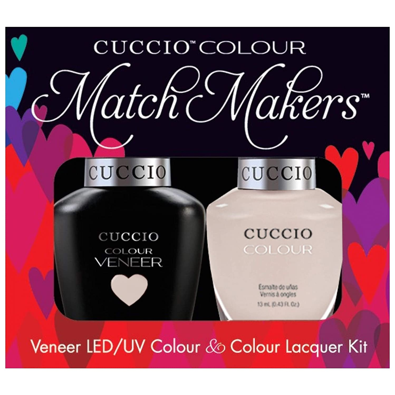 悔い改めるメンタリティボーナスCuccio MatchMakers Veneer & Lacquer - Pier Pressure - 0.43oz / 13ml Each