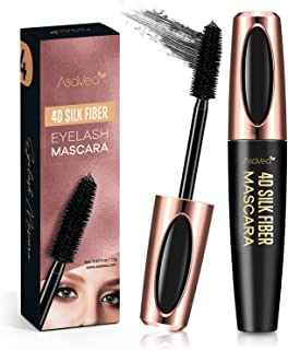 Natural 4D Silk Fiber Lash Mascara, Lengthening and Thick, Long Lasting, Waterproof &..