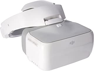 DJI CP.PT.000672 Goggles Immersive FPV Double 1920×1080 HD Screens Drone Accessories, 110 mm, White