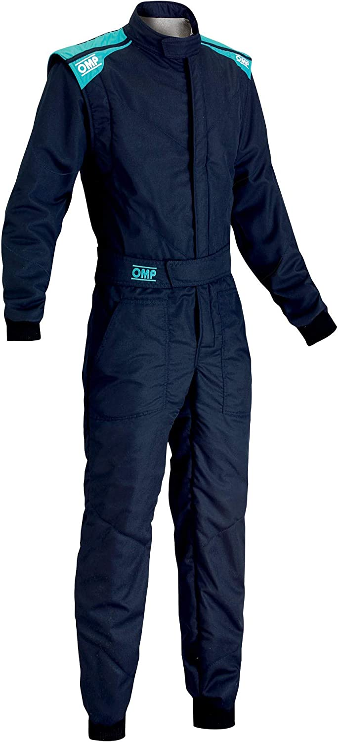 OMP Unisex-Adult First-S Suit Cyan Blue Discount is also underway Navy 56 Very popular!