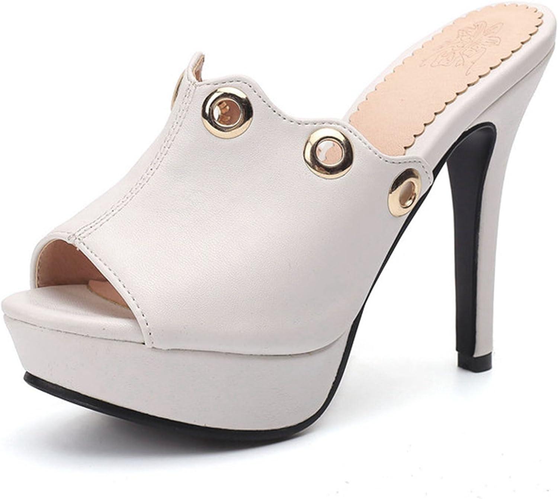 DoraTasia Women's Cloth Slide Heels Stiletto Sandal Open Toe Dress Heeled Sandals
