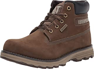 Caterpillar Men's Founder WP TX Construction Boot, Gravity Grey, 9