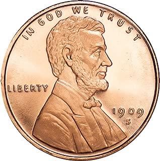 Lincoln Wheat Penny 1 oz .999 Copper Round
