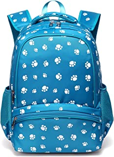 Little Girls Backpacks for Kindergarten Kids Preschool Boys School Bags Durable Bookbags (Small,Blue 2)