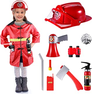 Best red fireman costume child Reviews