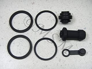 DP 0106-016 Front Brake Caliper Rebuild Repair Parts Kit Compatible with Honda Kawasaki Suzuki Yamaha