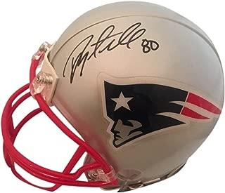 signed patriots helmet